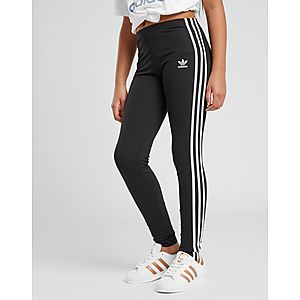 105b84d19d4c adidas Originals Girls  Trefoil 3-Stripes Leggings Junior ...