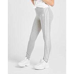 2246e11ead7f adidas Originals Girls  3-Stripes Leggings Junior ...