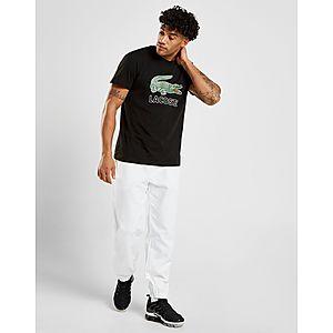 8f88946baf99c ... Lacoste Large Crocodile Logo Vintage T-Shirt