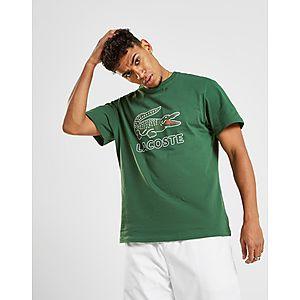 a299f05c7 ... Lacoste Large Crocodile Logo Vintage T-Shirt