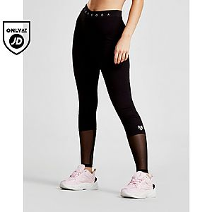 Pink Soda Sport Mesh Block Lifestyle Leggings ... 8d001315ee5