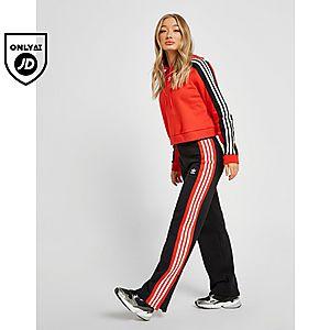 130a6898c71c adidas Originals Wide Leg Joggers ...