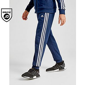 e909d33fbbd adidas Badge of Sport 3-Stripes Fleece Joggers Junior ...