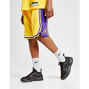 7c49a3e9c97e55 Nike NBA Los Angeles Lakers Shorts Junior ...