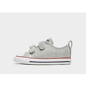 Converse Chuck Taylor All Star 2V Sparkle Low Top Infant ... 49adebd02