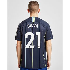 Nike Manchester City FC 2018 19 Silva  21 Away Shirt ... 63504edfe