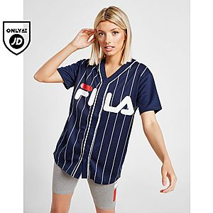 2b255ef9512bcc ... Fila Stripe Baseball T-Shirt