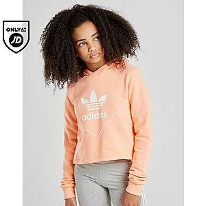 b27fcdd4b adidas Originals Colours Cropped Hoodie Junior adidas Originals Colours  Cropped Hoodie Junior