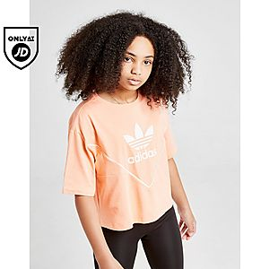 4b55ffdc8b2 adidas Originals Girls  Colorado Crop T-Shirt Junior ...