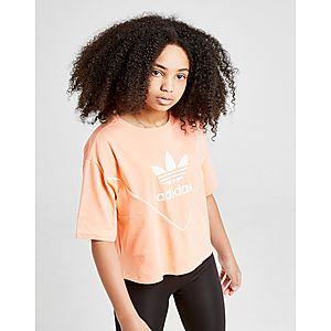 93d4d4e4fd2 adidas Originals Girls  Colorado Crop T-Shirt Junior ...