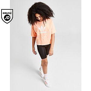 008fff2fbb835 ... adidas Originals Girls  Colorado Crop T-Shirt Junior