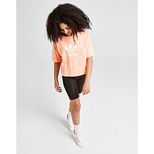 18edf0d2218f ... adidas Originals Girls  Colorado Crop T-Shirt Junior