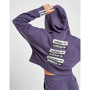 549ffd55efbd adidas Originals R.Y.V. Crop Hoodie ...