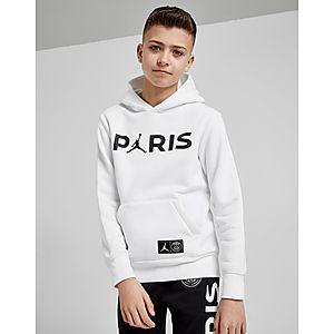15d16100594cb1 Jordan x Paris Saint Germain Hoodie Junior ...