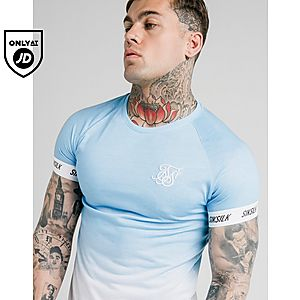 33827414d80 SikSilk Fade Tech T-Shirt ...