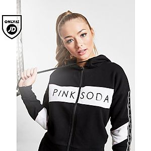 685372677594c2 Pink Soda Sport Addison Full Zip Tape Hoodie ...