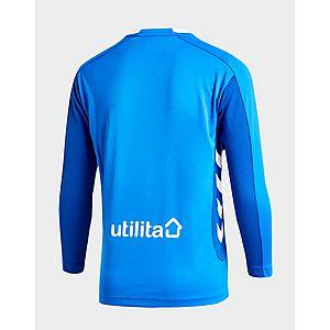 e8b248b3125 ... Hummel Rangers FC 2018 19 Long Sleeve Home Shirt Junior
