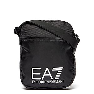 e9fbfc43e0 Emporio Armani EA7 Train Logo Small Pouch Bag ...
