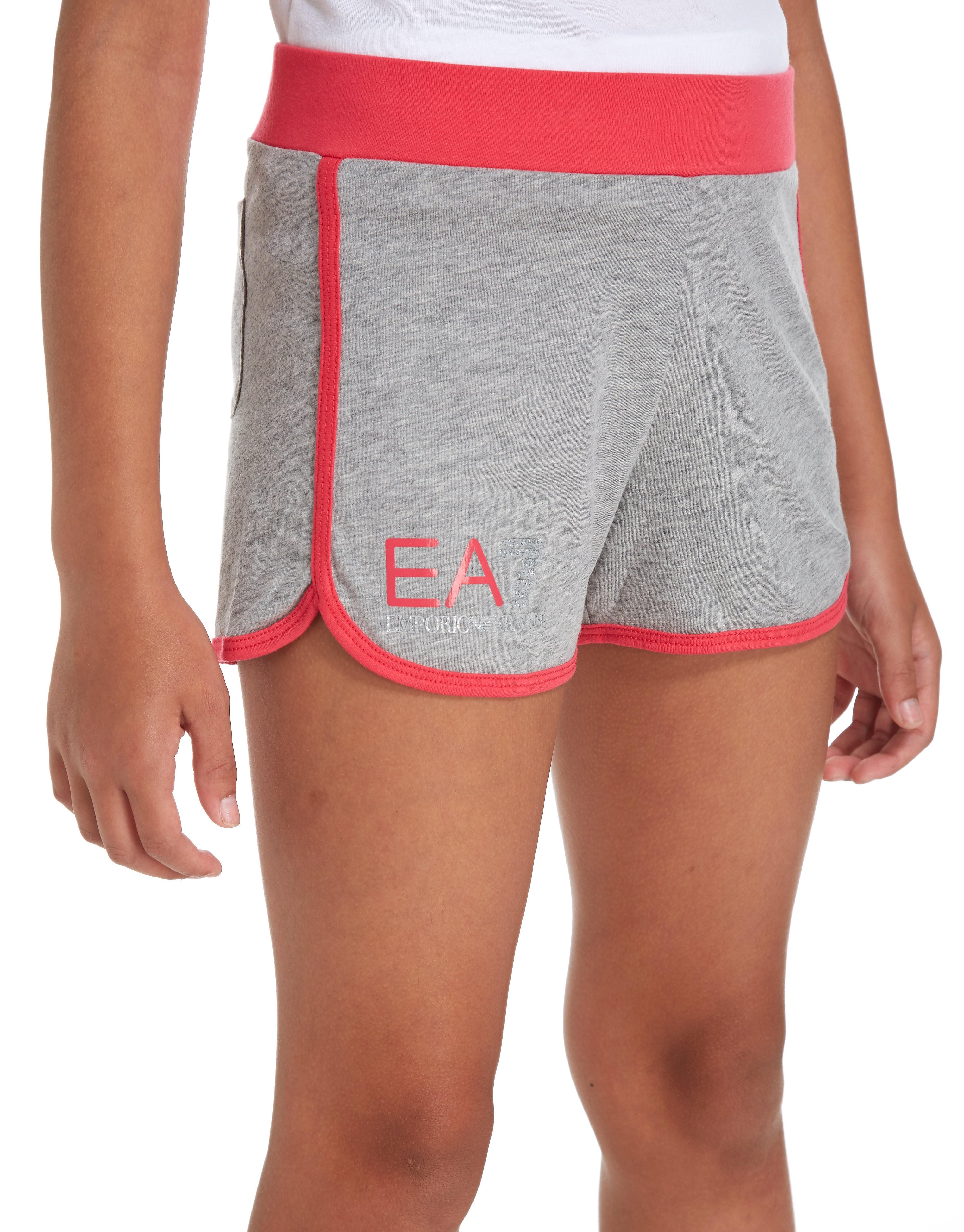 Emporio Armani EA7 Girls' Fleece Shorts Junior