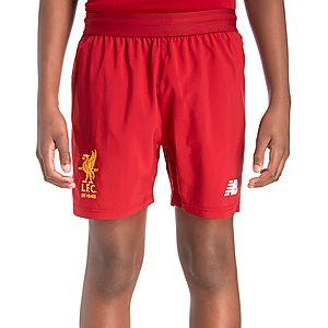 8263d22a3bd New Balance Liverpool FC 2017 18 Home Shorts Junior ...