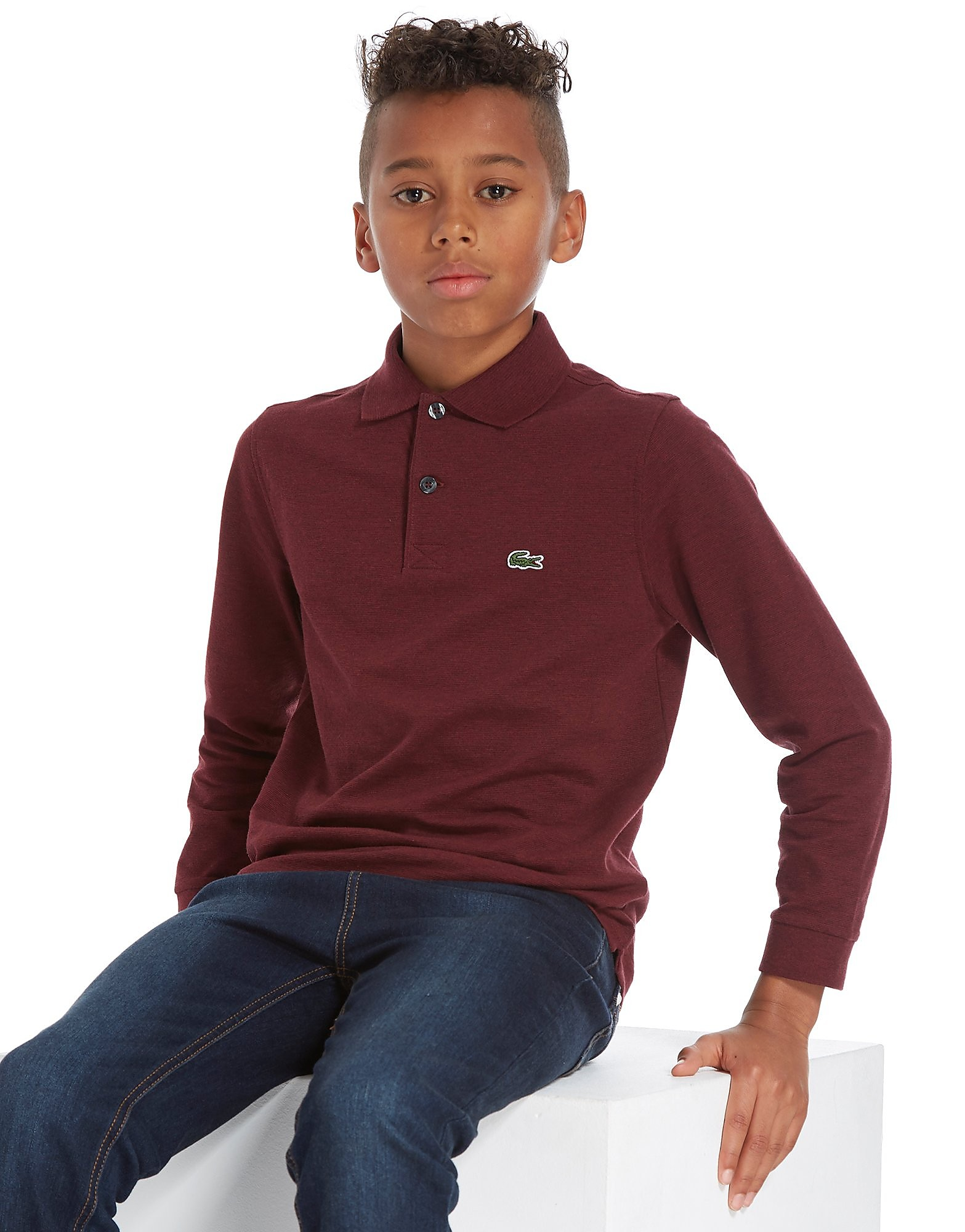Lacoste Long Sleeve Sport Polo T-Shirt Children