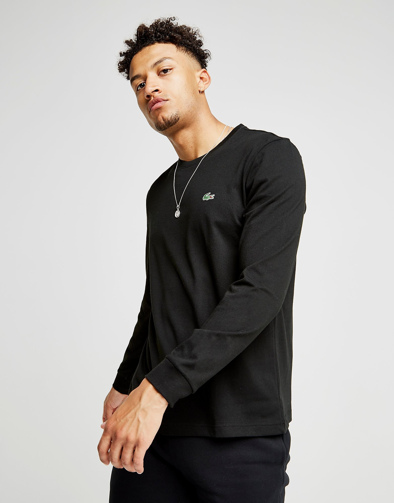 Lacoste Croc Long-Sleeved T-Shirt