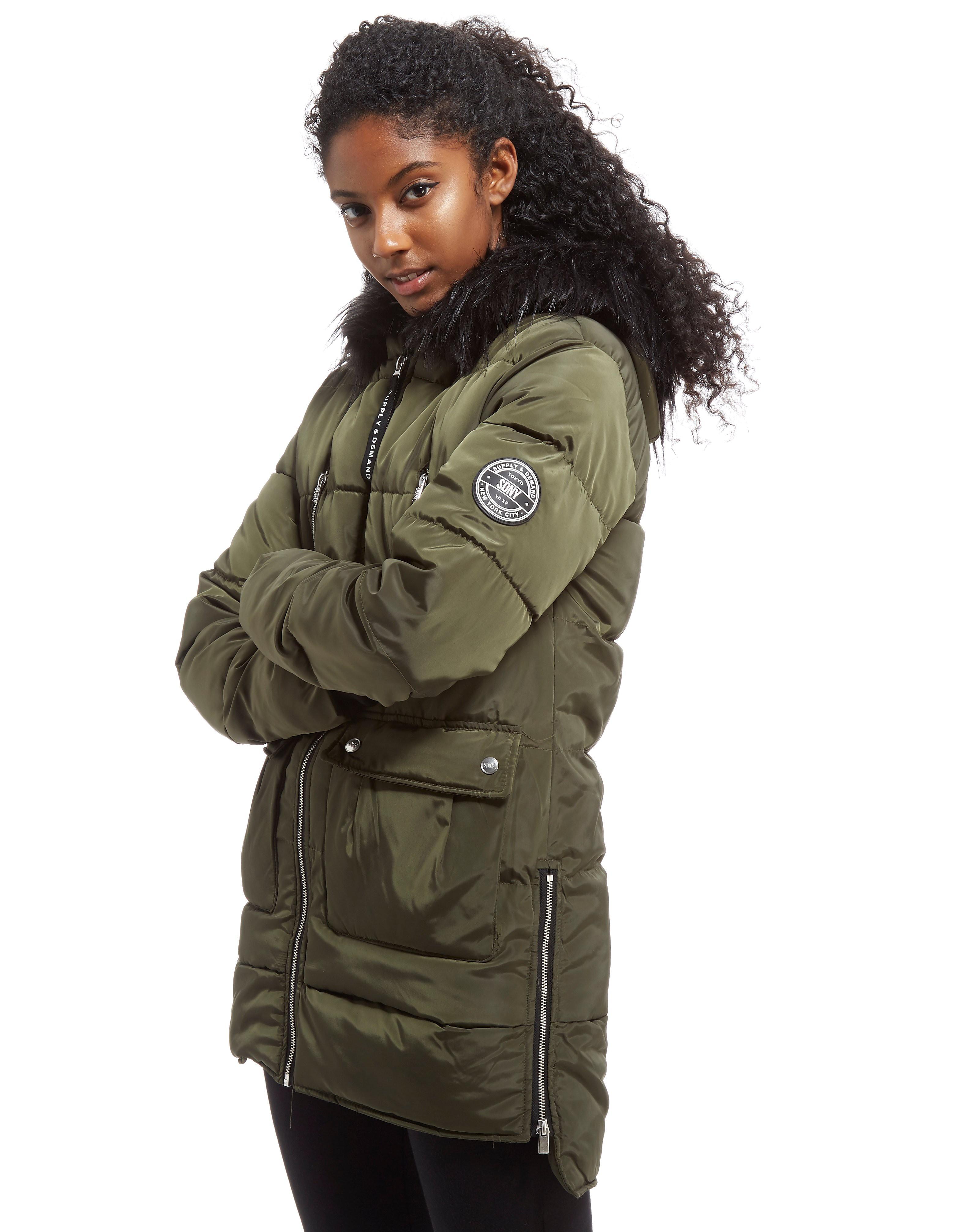 Supply & Demand Longline Parka Jacket