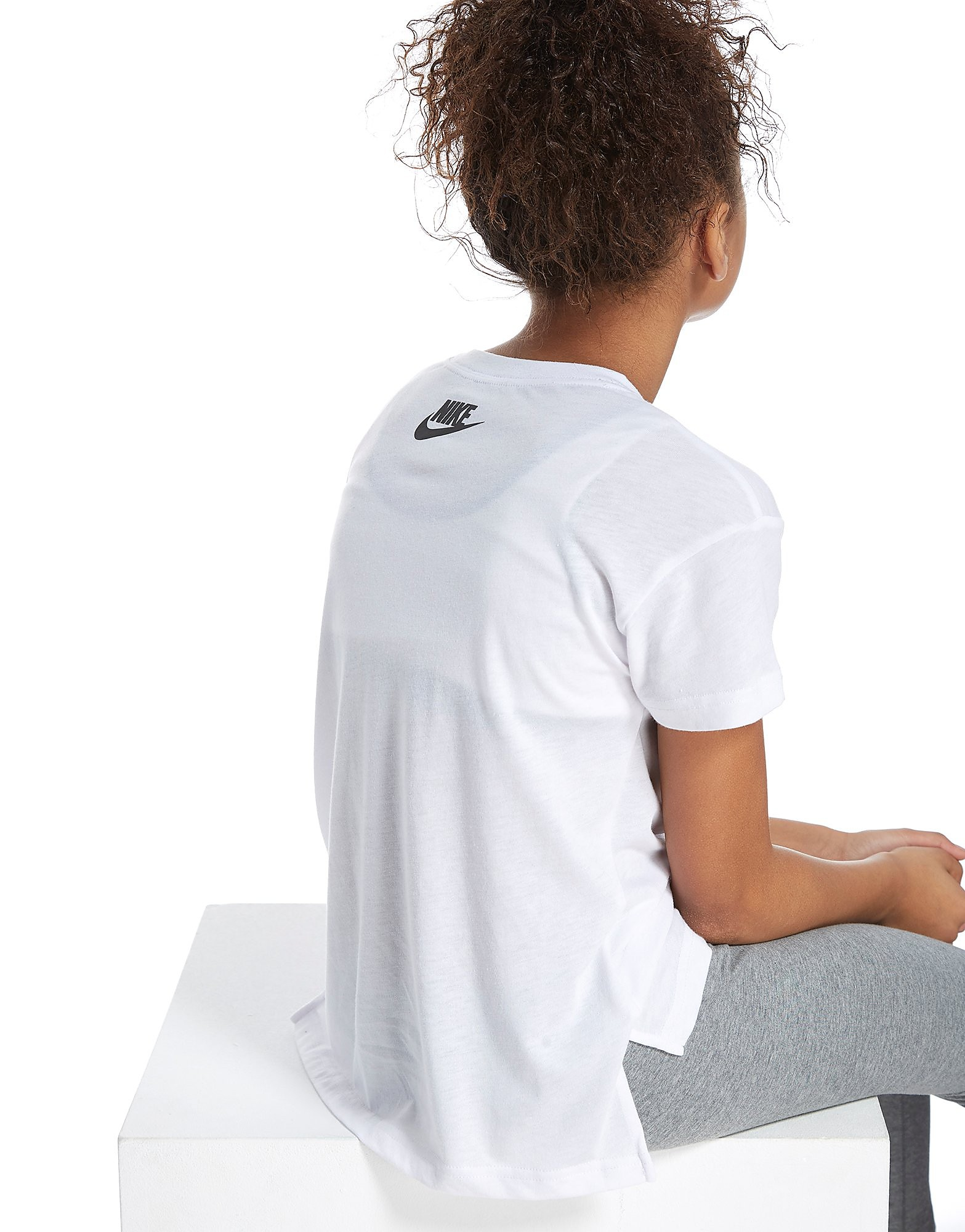 Nike Girls' Just Do It Cropped T-Shirt Junior