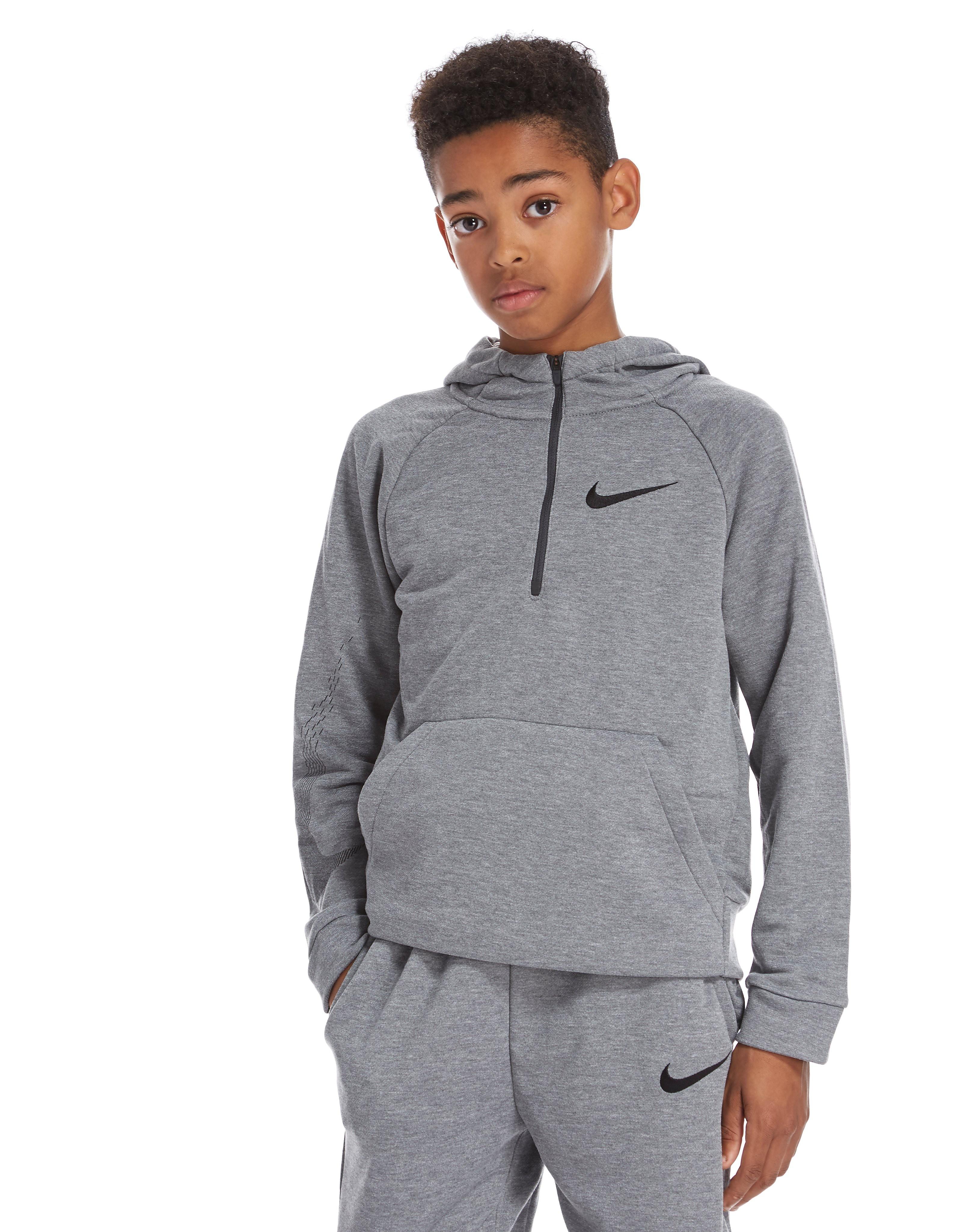 Nike Dri-Fit 1/4 Zip Hoodie Junior