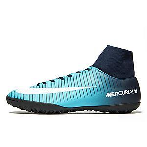 super popular 2ddf4 224c0 NIKE MERC VIC DF TF BLUE ...