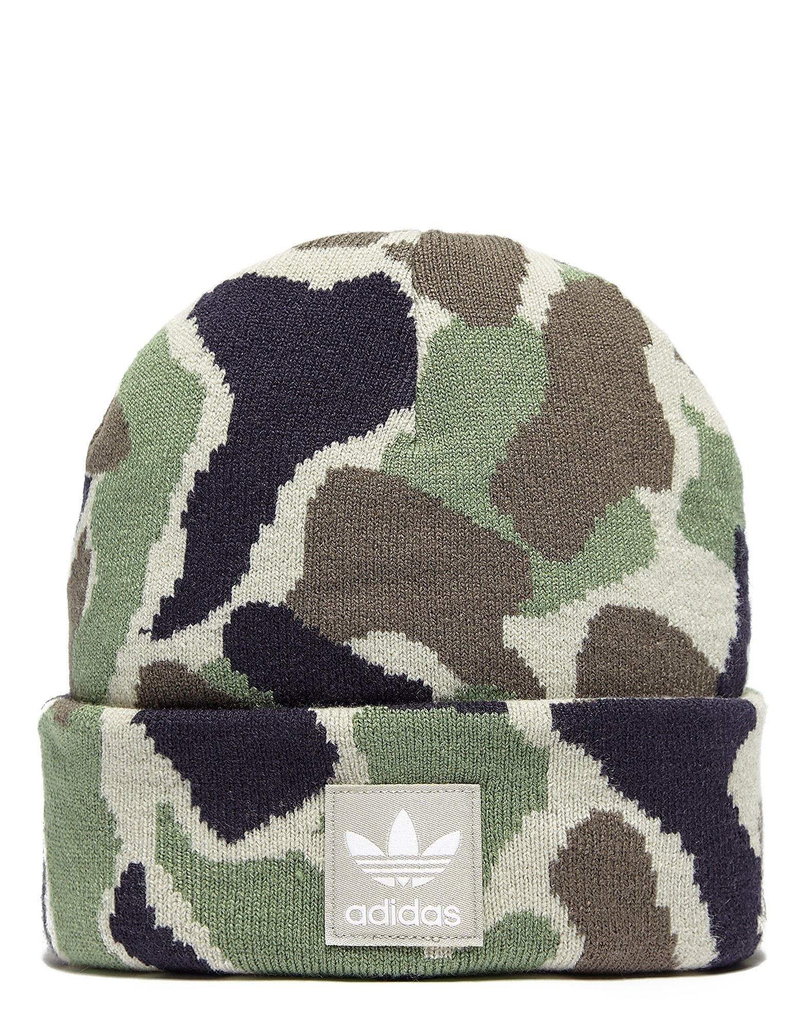 adidas Originals Camo Beanie Hat