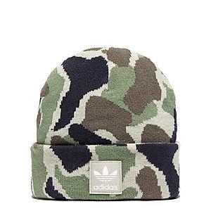 6b34850e76b adidas Originals Camo Beanie Hat ...