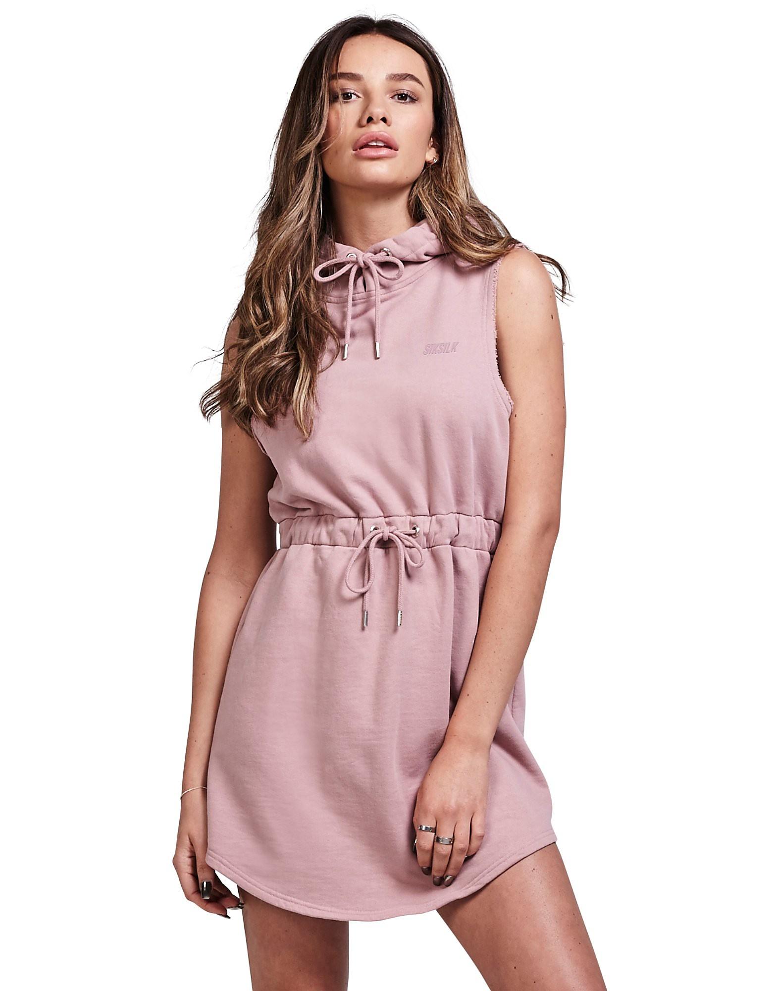 SikSilk Sleeveless Hood Dress