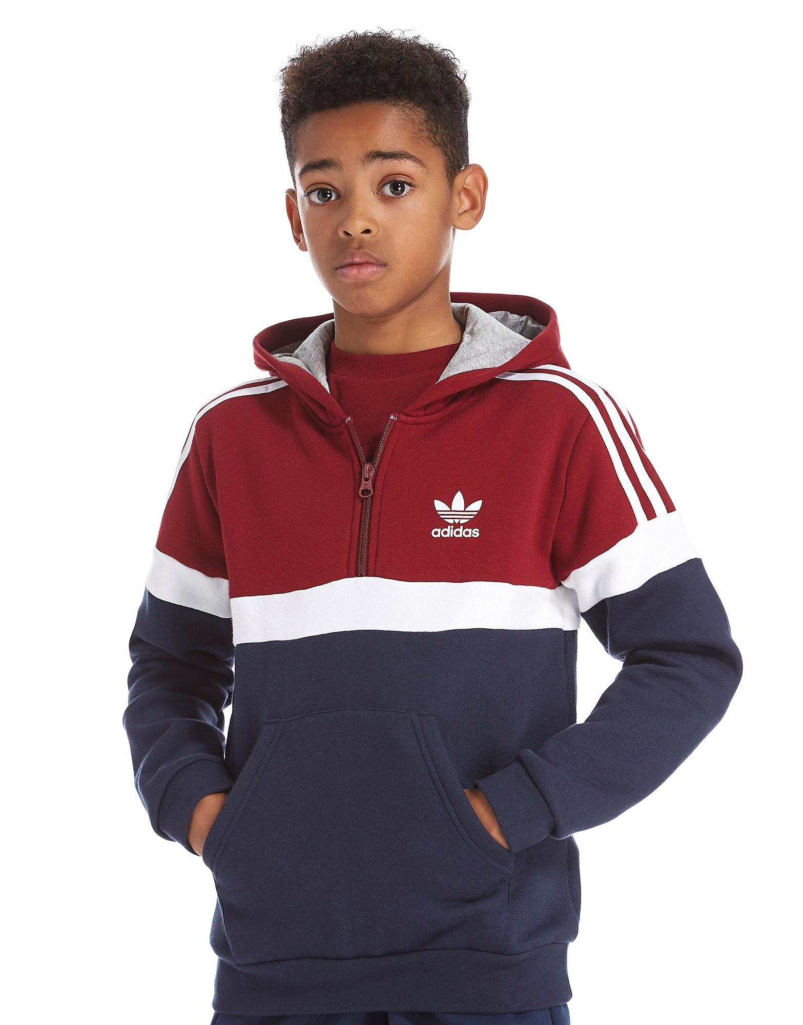 adidas Originals 1/4 Zip Itasca Hoodie Junior