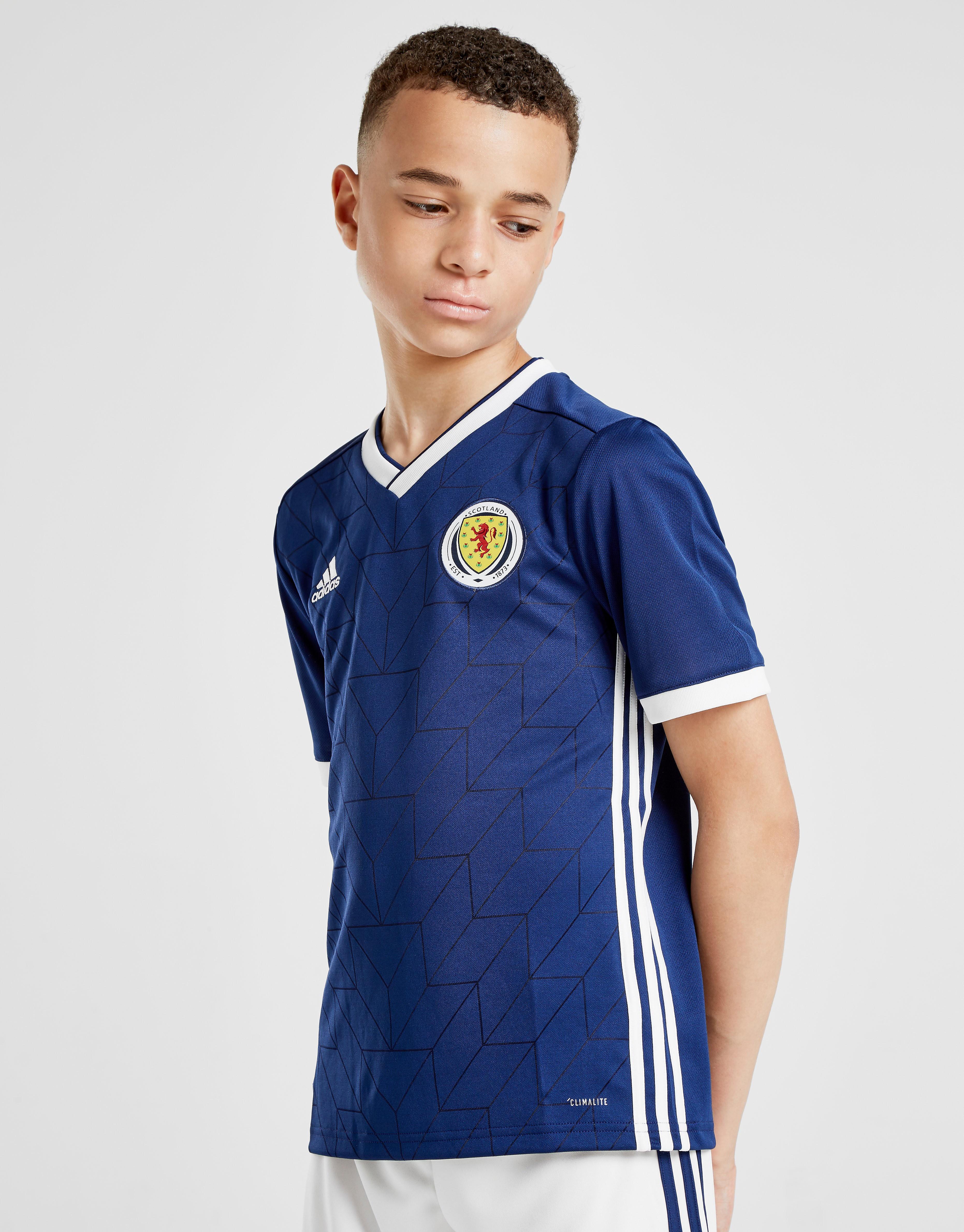 adidas Scotland 2017/18 Home Shirt Junior