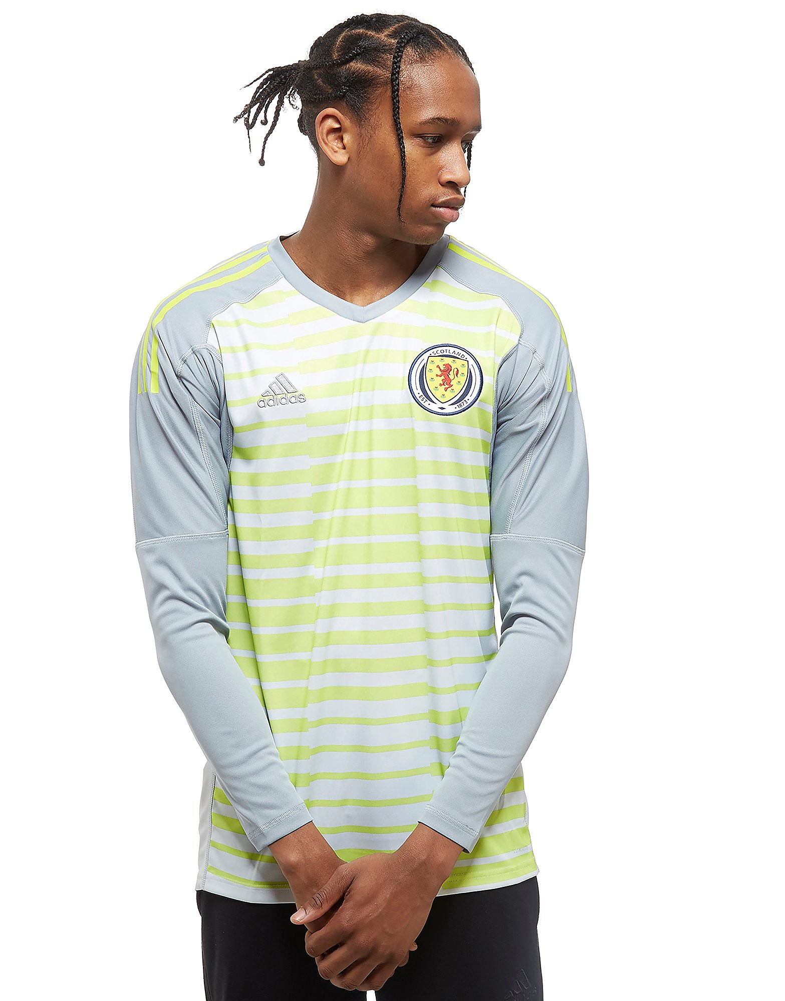 adidas Scotland 2018 Home Goalkeeper Shirt