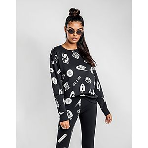 31771ed17181b2 NIKE Air Max Printed Crew Sweatshirt