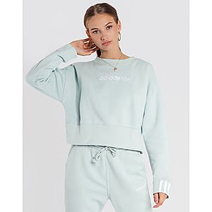2814ce2323b27 adidas Originals Coeeze Cropped Sweatshirt
