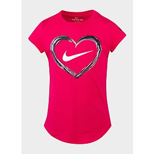 NIKE Girl s Digital Analog Heart T-Shirt Children 782c99c34