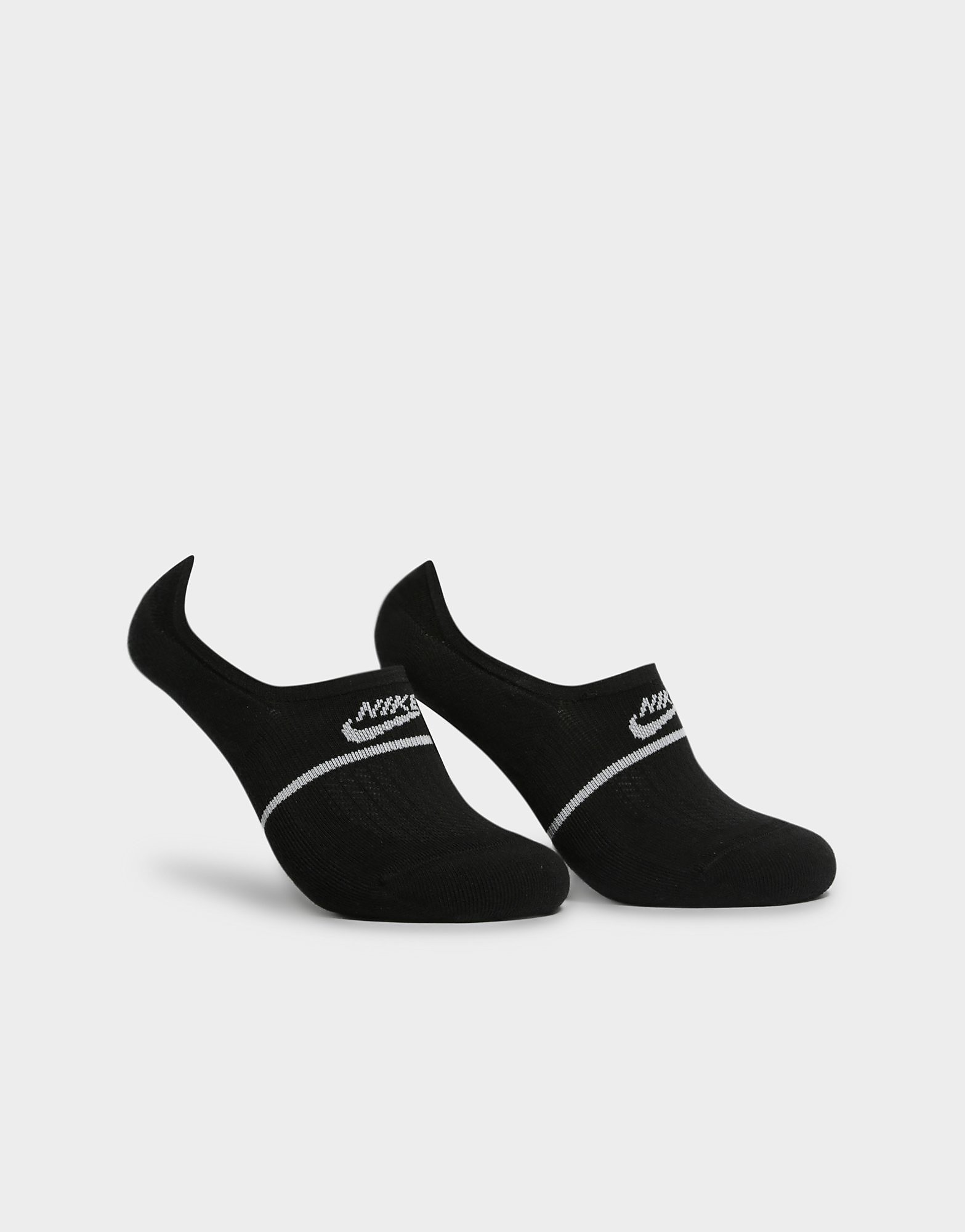 NIKE 2 Pack SNKR Sox Essential No-Show Socks
