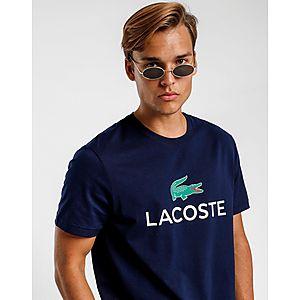 d4c8588fcf7 LACOSTE Crew Neck Large Logo Short Sleeve T-Shirt
