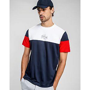 a70fc361301 LACOSTE Colour Block Logo T-Shirt