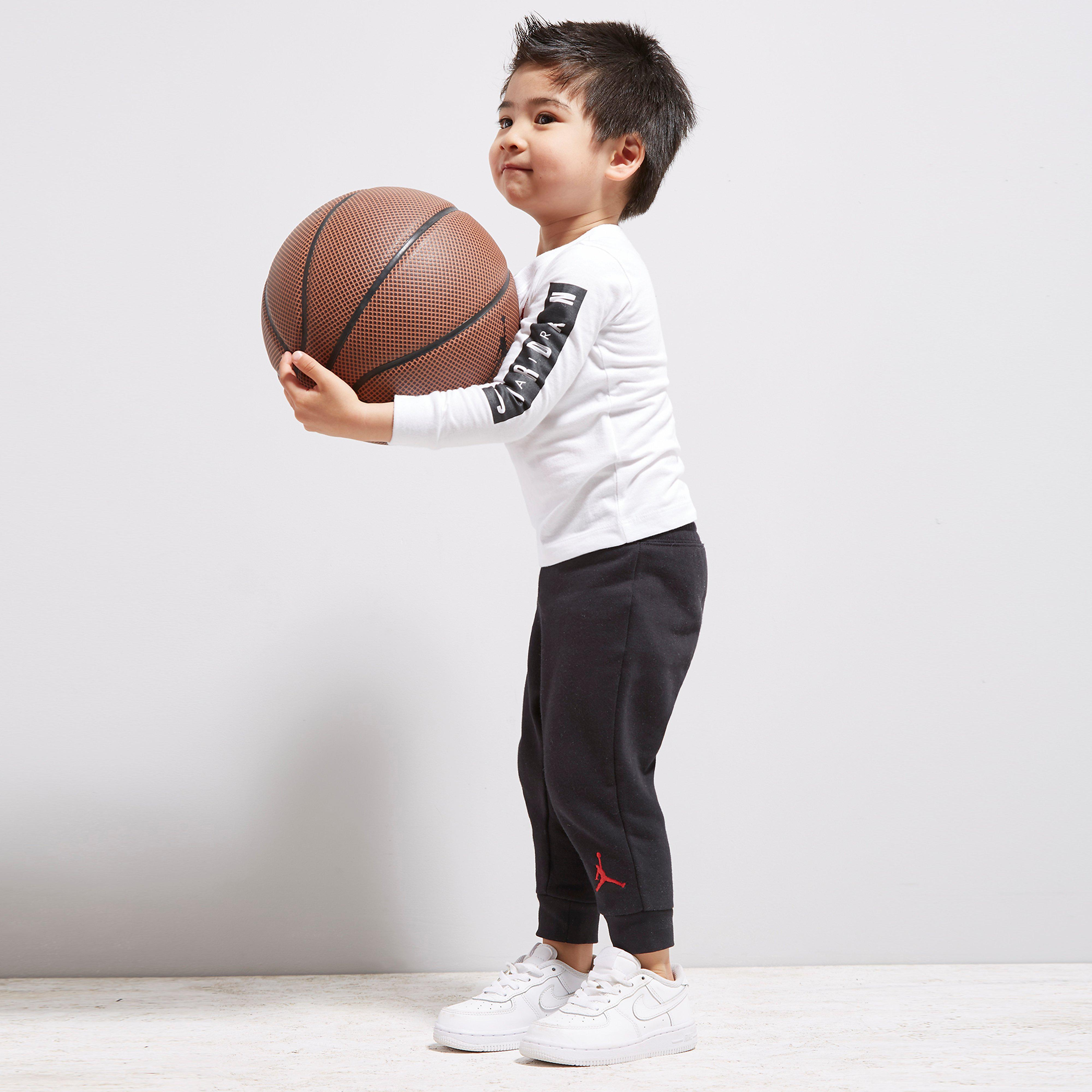 Jordan Cement Long Sleeve 2 Piece Set Baby's