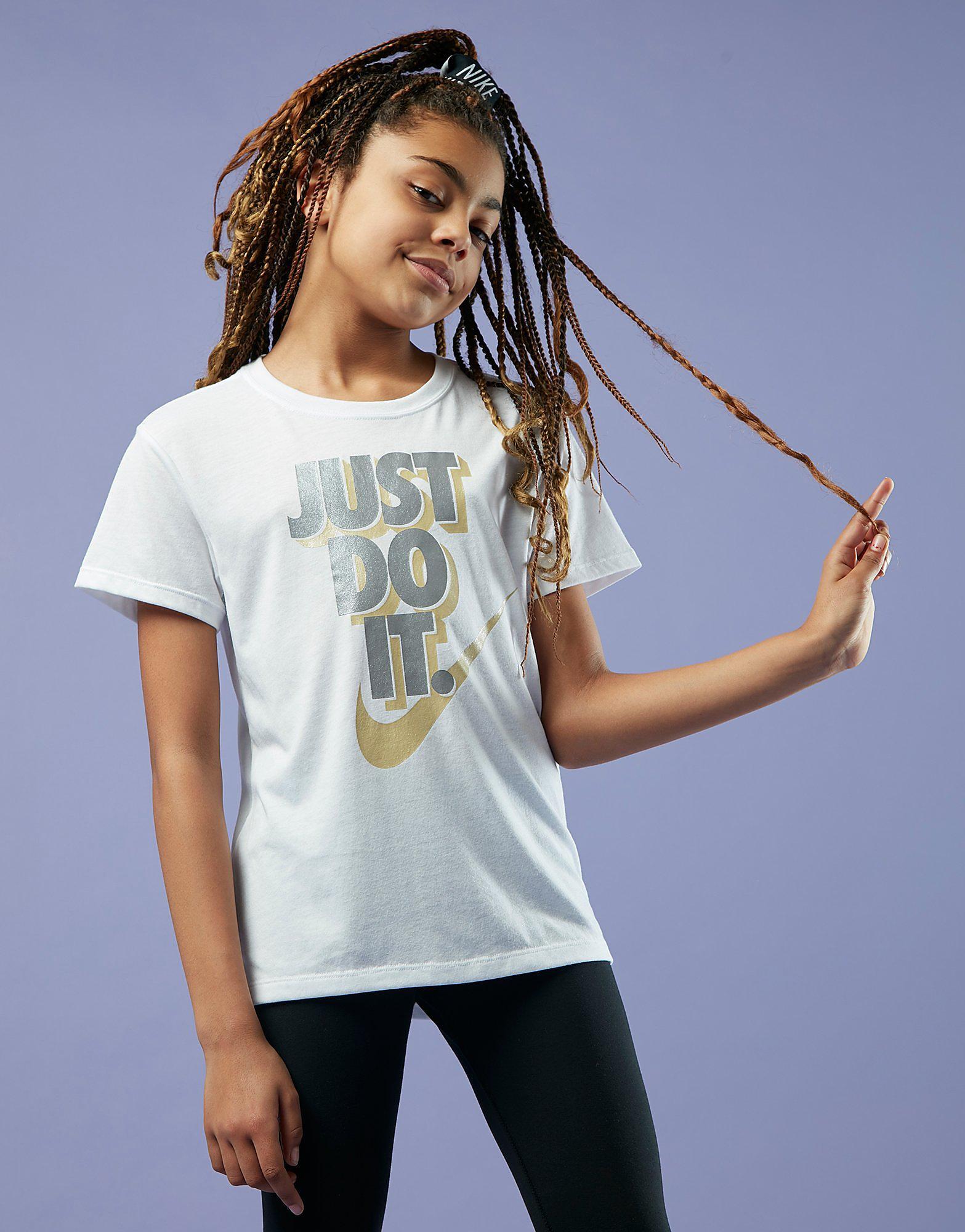 Nike Girls' Stack Just Do It T-Shirt Junior