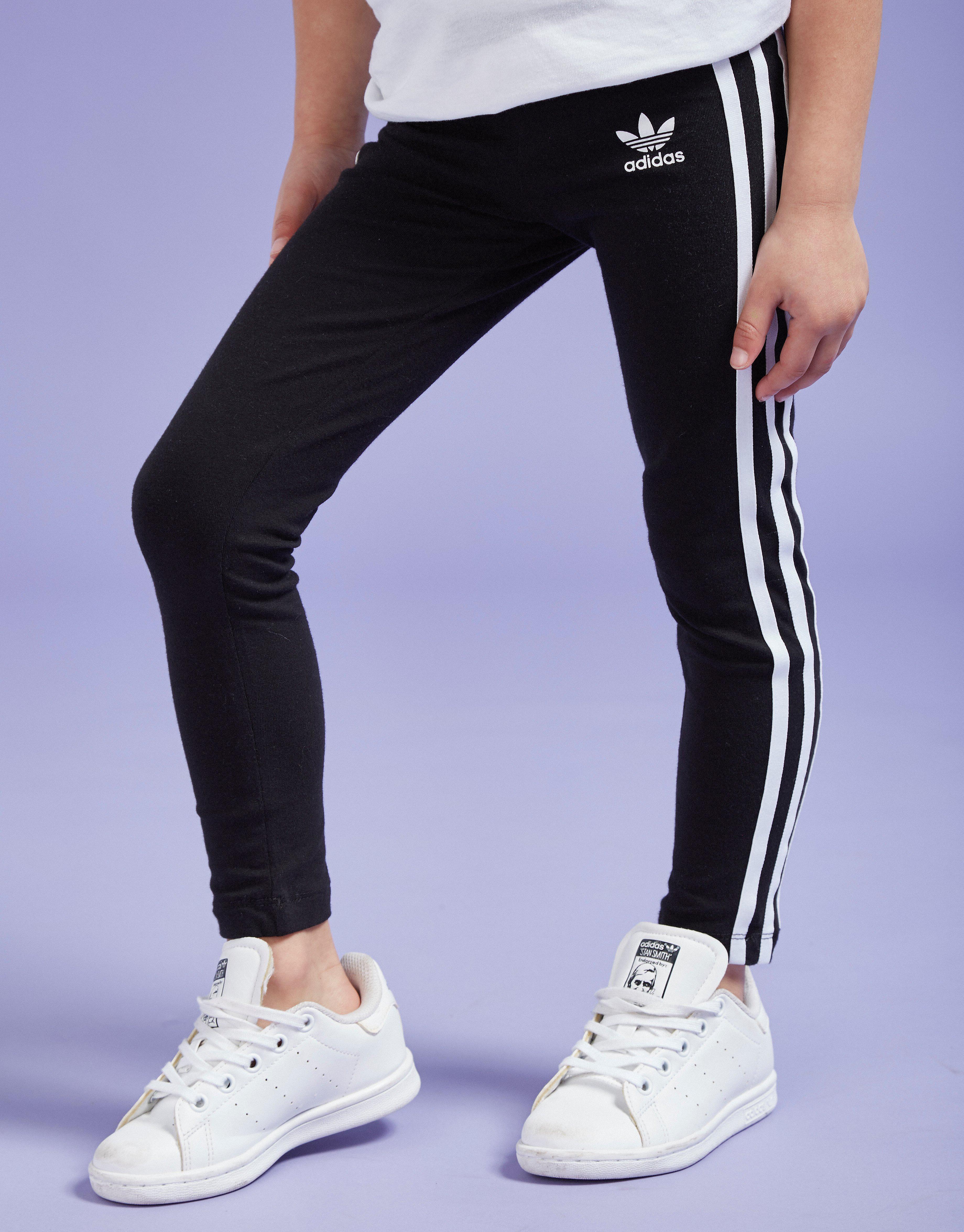 adidas Originals Girls' 3- Stripes Leggings Junior
