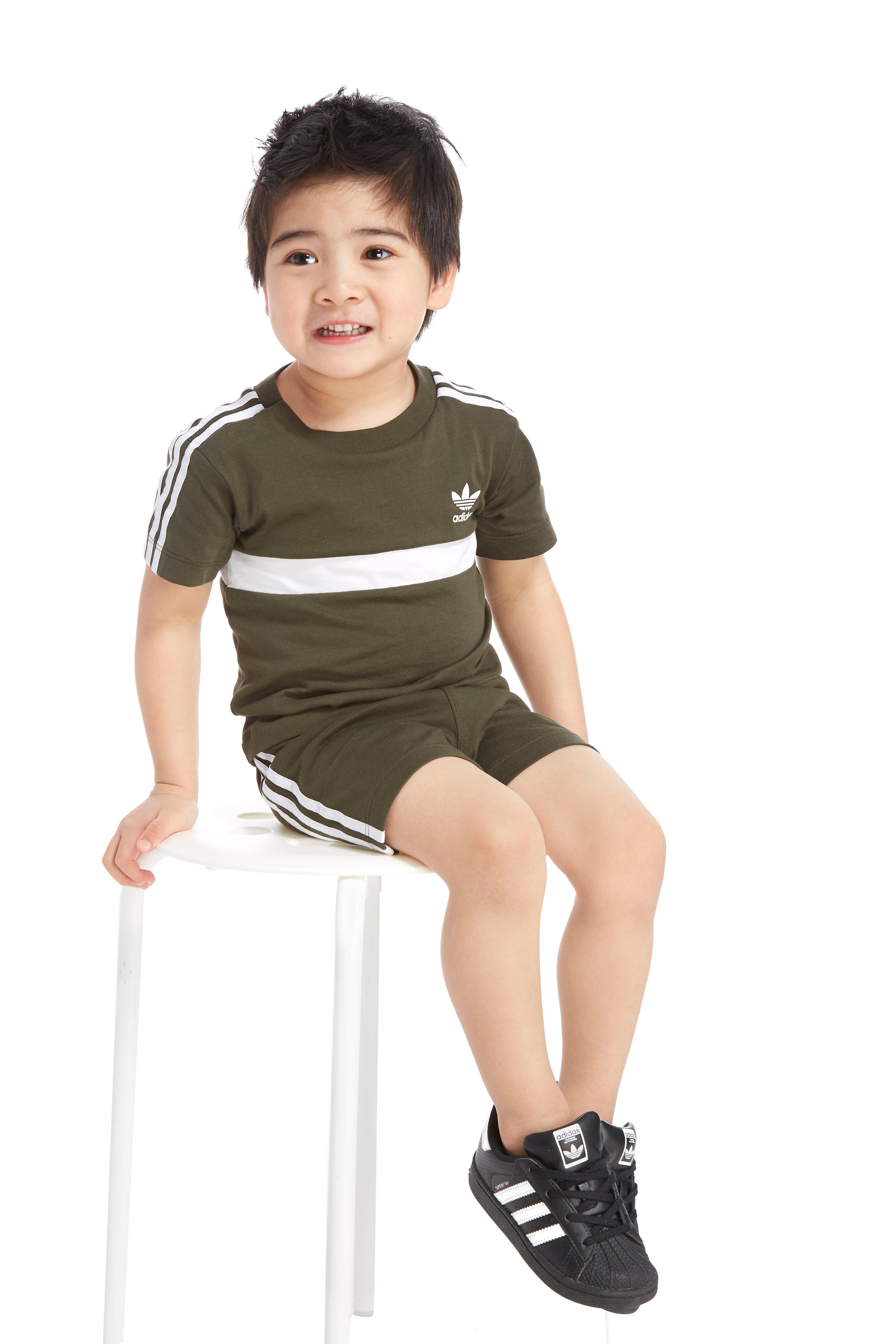 adidas Originals Itasca T-Shirt/Shorts Set Baby's