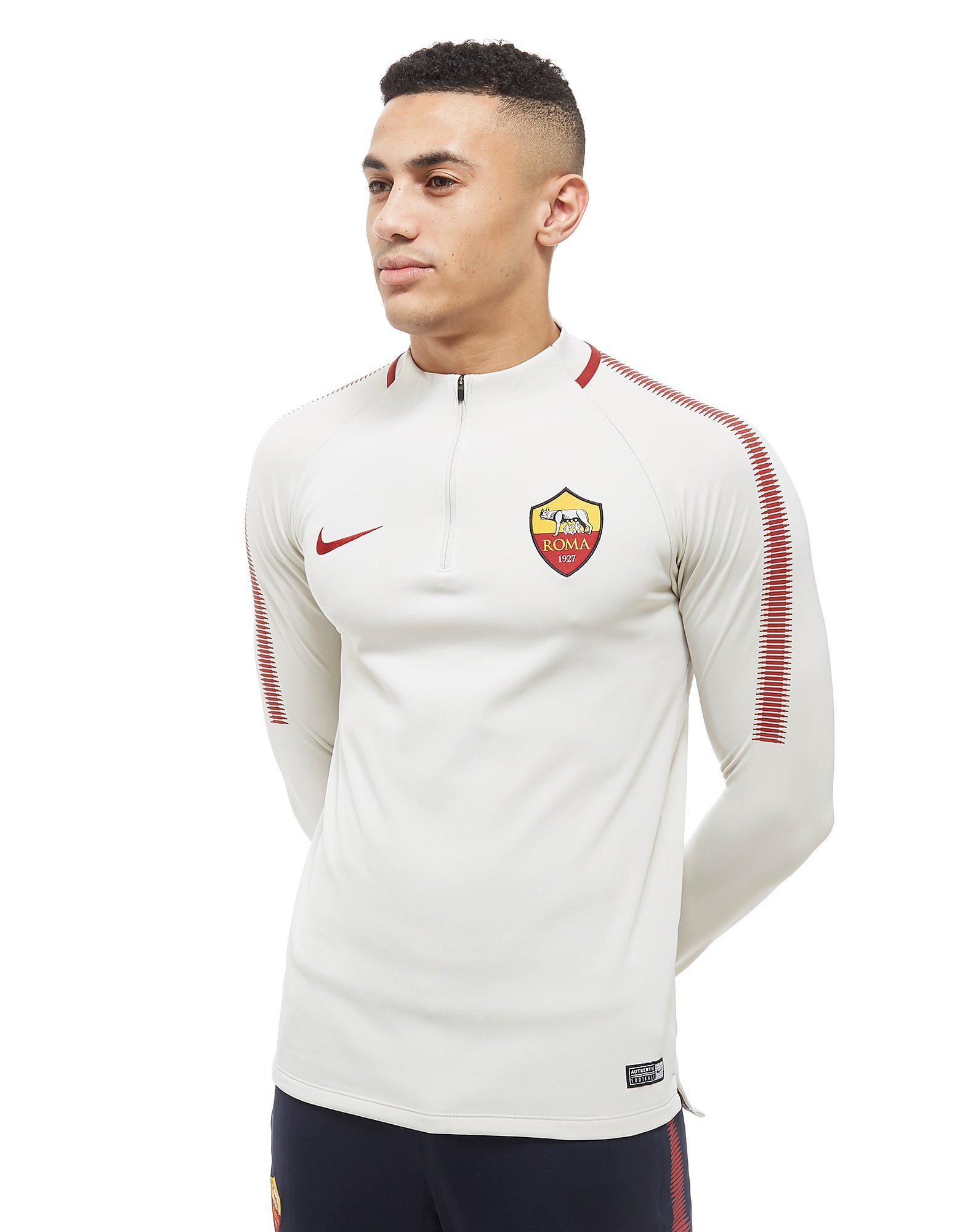 Nike Roma Squad Drill 1/4 Zip Football Top Heren