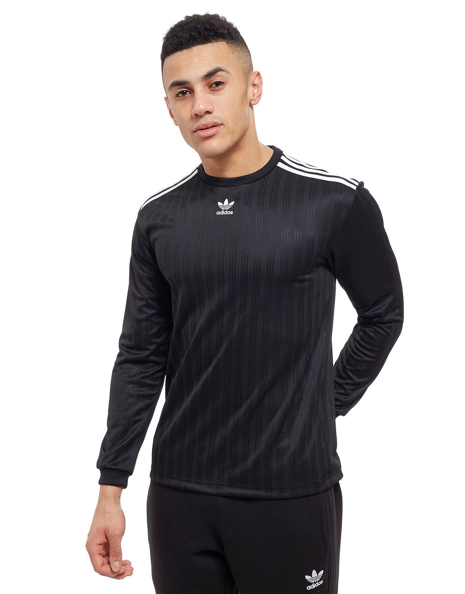 adidas Originals Trefoil Football Long Sleeve T-Shirt