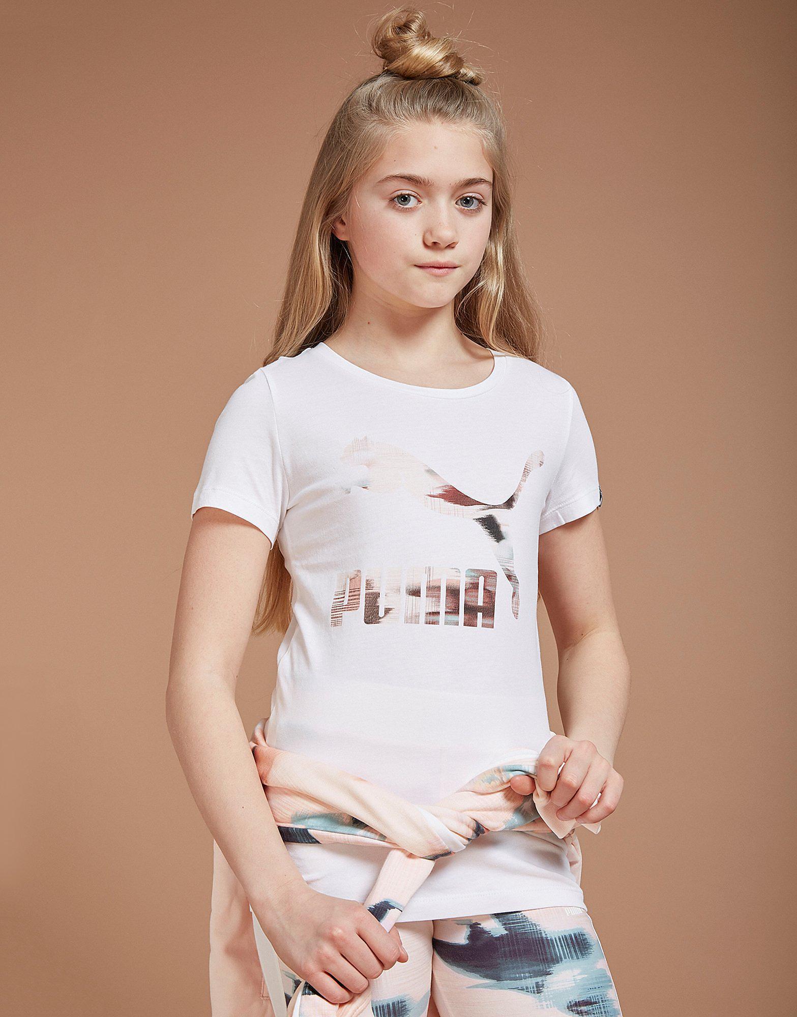 PUMA Girls' Classic T-Shirt Junior