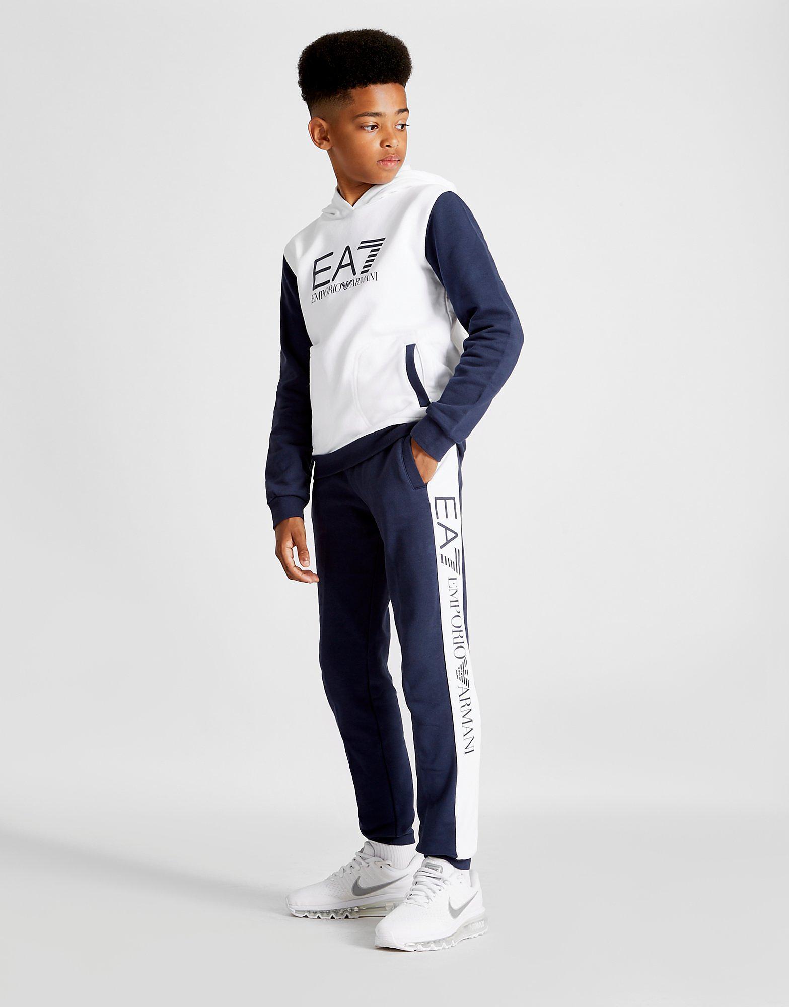 Emporio Armani EA7 Colourblock Fleece Suit Junior